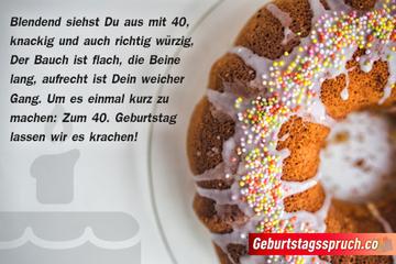 ᐅ Spruche Zum 40 Geburtstag Die Beliebtesten Wunsche Zum 40